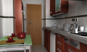 render kitchen