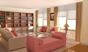 render living room